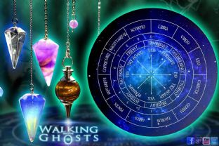 4x set Divination Pendulum with Talking Board